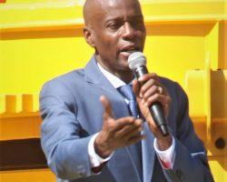 « Toutes les directions départementales du MTPTC du pays sont  équipées… »,  affirme Jovenel Moïse
